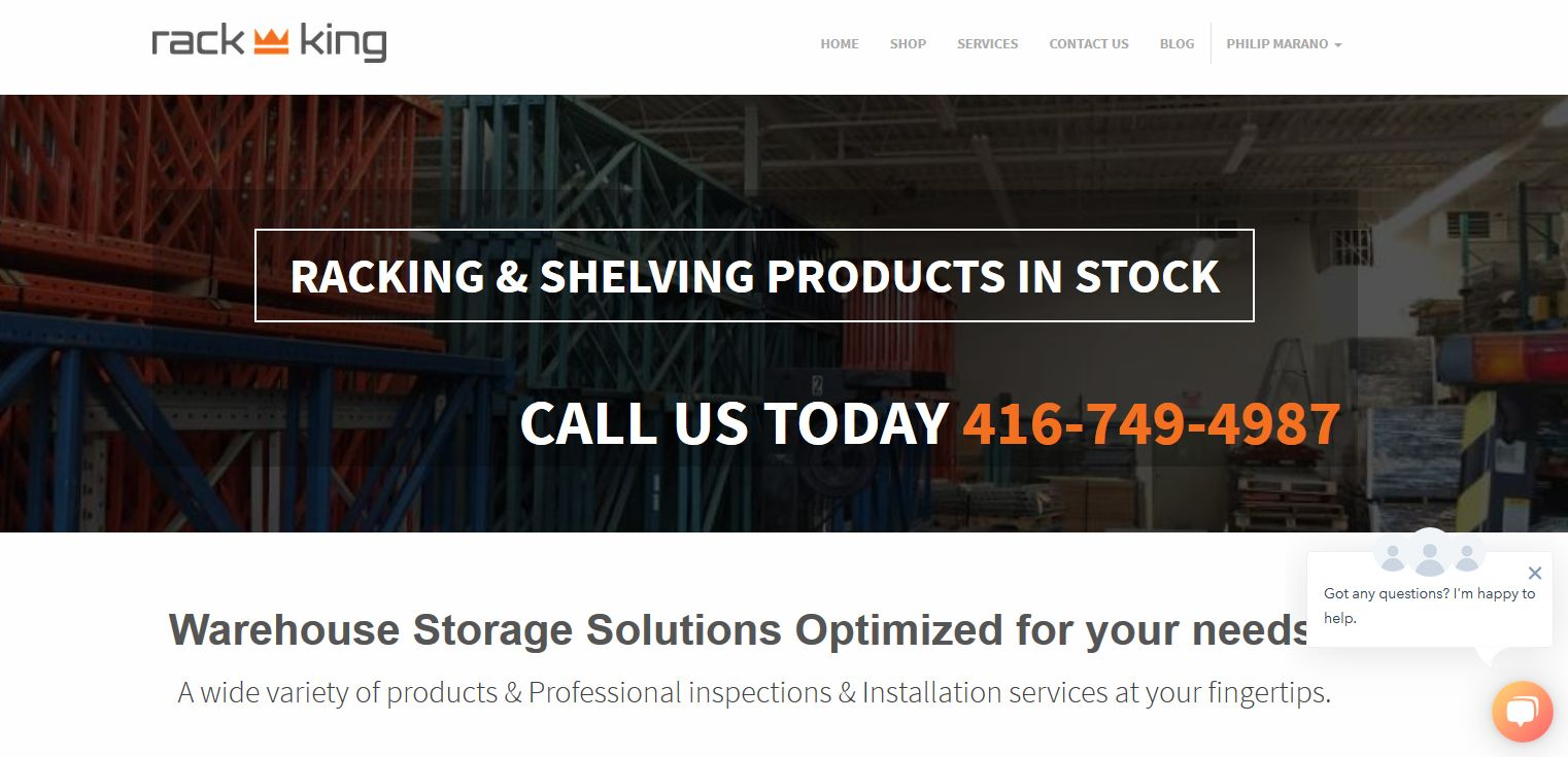 Browse 1000's of Industrial Products at Rack-king