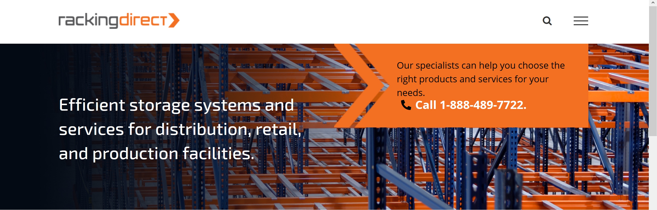 RackingDIRECT Racking for Industries