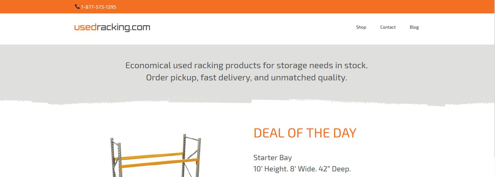 Used Racking Com Economical used racking products for storage needs