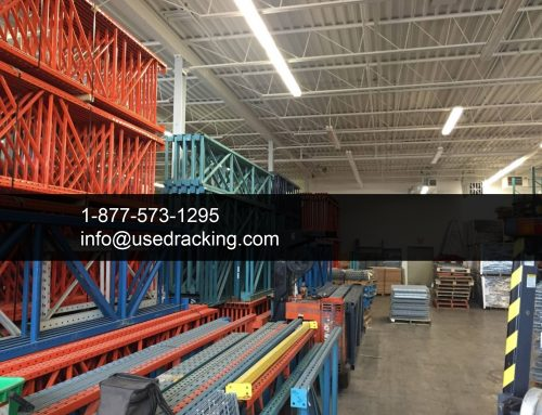 Discover a Huge Inventory of Used  Racking Products